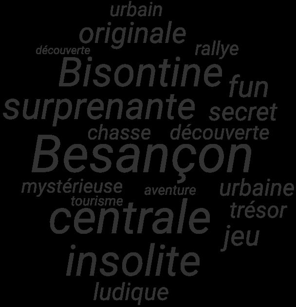 nuage de mots Besançon